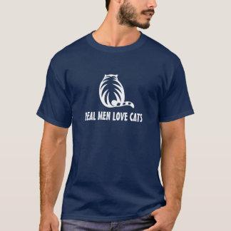 Het echte man houdt van het overhemd van het t shirt