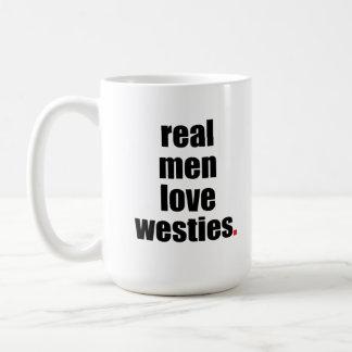 Het echte Man houdt van Mok Westies