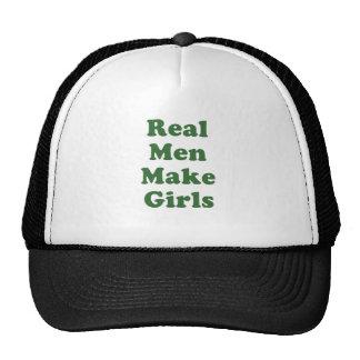 Het echte Man maakt Meisjes Trucker Cap