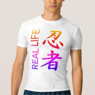 Het echte Overhemd van de Compressie van Ninja T Shirts