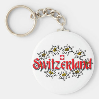 Het Edelweiss Keychain van Zwitserland Sleutelhanger