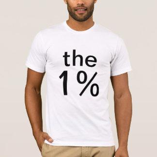 het één percent (1%) - anti-bezet Wall Street T Shirt