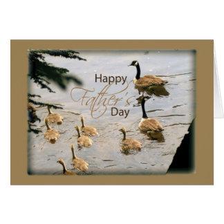Het Eendje van het vaderdag Briefkaarten 0