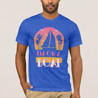 Het eenzame Eiland - ik ben op een Boot T Shirt