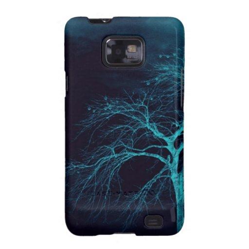 Het eenzame Hoesje van de Melkweg S van boomSamsun Samsung Galaxy S2 Hoesjes