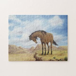 Het eenzame Raadsel van de Mustang Legpuzzel