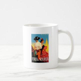Het Eerlijke Poster van Sevilla April van Spanje Koffiemok