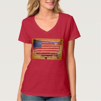 Het eerste Amendement waarborgt Persvrijheid T Shirt