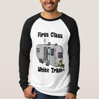 Het eerste Witte Afval van de Klasse T Shirt
