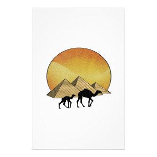Het Egyptische Overgaan Briefpapier