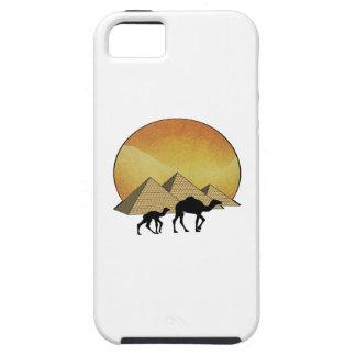 Het Egyptische Overgaan Tough iPhone 5 Hoesje