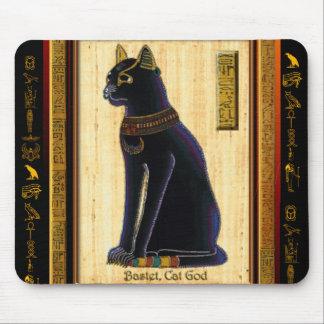 Het Egyptische Stootkussen van de Muis van de Kat Muismatten