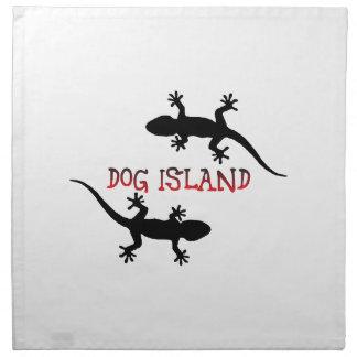 Het Eiland Florida van de hond Servet