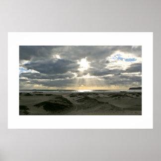 Het Eiland van Coronado na een Storm Poster
