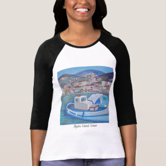 Het Eiland van Hydra, Griekenland T Shirt