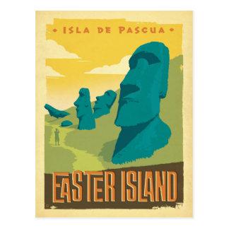 Het Eiland van Pasen, Chili Briefkaart
