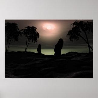 Het eiland van Pasen Poster
