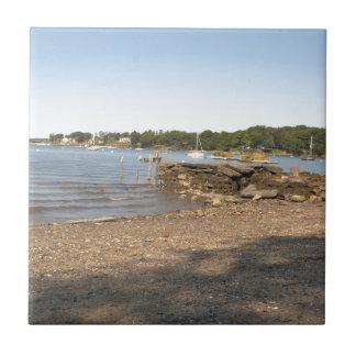 Het Eiland van pieken, ME het Strand van de Club Keramisch Tegeltje