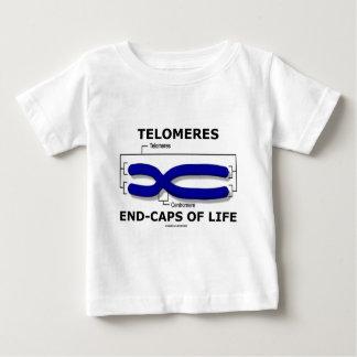 Het eind-Pet van Telomeres van het Leven (de Humor Baby T Shirts