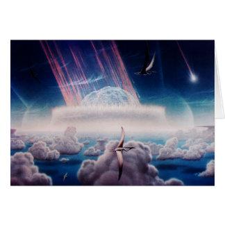 Het eind van de Dinosaurus van NASAs Briefkaarten 0