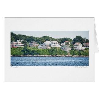 Het Eind van het westen - Long Island, de Kaart