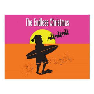 Het eindeloze Briefkaart van Kerstmis