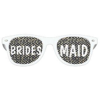 Het elegante Bruidsmeisje van het Huwelijk van Retro Zonnebril