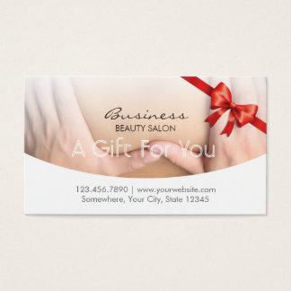 Het elegante Certificaat van de Gift van de Salon Visitekaartjes