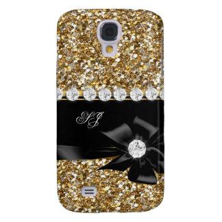 Het elegante Elegante Goud schittert de Boog van Galaxy S4 Hoesje