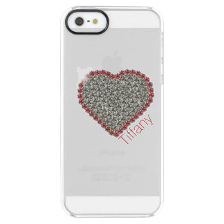 Het elegante Geval van iPhone van de Douane van Doorzichtig iPhone SE/5/5s Hoesje