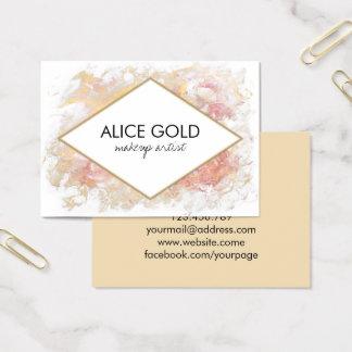 Het elegante glanzende schilderen visitekaartjes