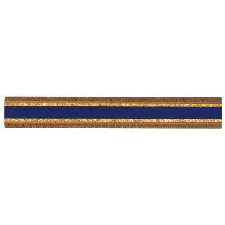 Het elegante Goud Faux schittert en het Blauwe Kersen Liniaal