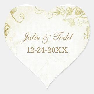 Het elegante Gouden Huwelijk bewaart de Datum