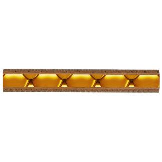Het elegante Gouden Patroon van de Schaal Kersen Liniaal