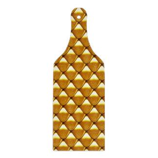 Het elegante Gouden Patroon van de Schaal Snijplank