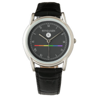Het elegante Horloge LGBT van het Monogram van de