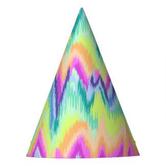 Het elegante Kleurrijke Abstracte Patroon van de Feesthoedjes