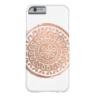 Het elegante Logo van Mandala van de Schoonheid Barely There iPhone 6 Hoesje