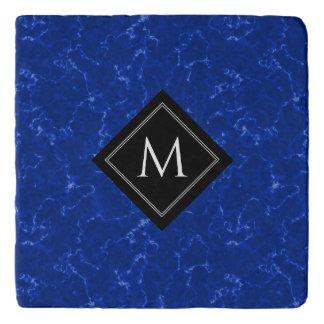 Het elegante Marmer van Koningsblauwen met Trivet