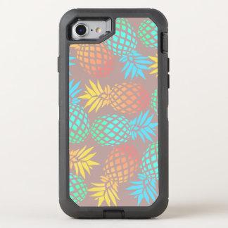 het elegante patroon van de de zomer tropische OtterBox defender iPhone 7 hoesje