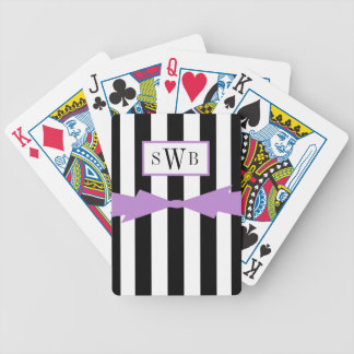 HET ELEGANTE SPELEN CARDS_BLACK/WHITE BICYCLE SPEELKAARTEN