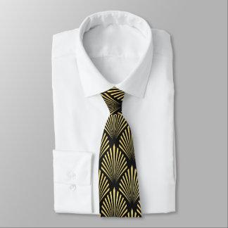 Het elegante stropdas van het art decopatroon
