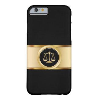 Het elegante Thema van de Procureur Barely There iPhone 6 Hoesje