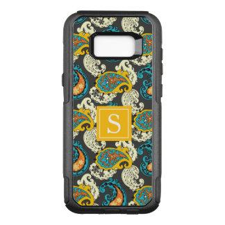Het elegante Turkoois van de Wervelingen van OtterBox Commuter Samsung Galaxy S8+ Hoesje
