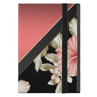Het elegante Verfijnde Rood van het Koraal - iPad Mini Cover