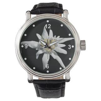 Het elegante Witte Horloge van het Edelweiss
