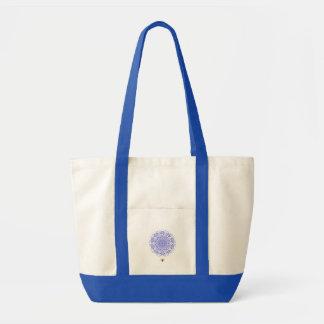 Het elf Bloo - het Canvas tas van Bloo Mandala