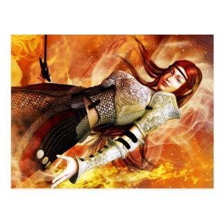 Het Elf van de brand Briefkaart