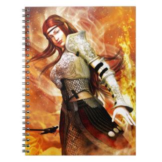 Het Elf van de brand Notitieboek