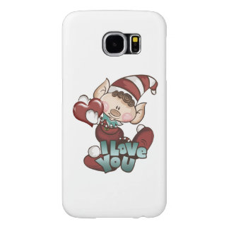 """Het Elf van Kerstmis - de """"Liefde van I u"""" S6 Samsung Galaxy S6 Hoesje"""